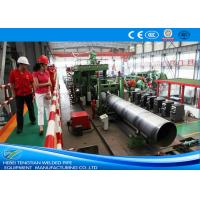 Wholesale Erw Pipes 304 Stainless Steel Pipe Welding Machine / Welded Tube Mill from china suppliers