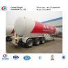 CLW factory suppiy biggest 25.2t 60CBM 60000l 3 axles 12 wheels LPG gas trailer  for sale, ASME standard lpg gas trailer for sale