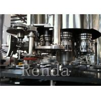 China Soda Filling Carbonated Drink Filling Machine 10000BPH Stainless Steel Material for sale