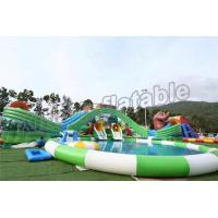 Wholesale Fun Outdoor Amusement Park Inflatable Water Parks For Adults And Childrens from china suppliers