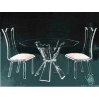 Wholesale acrylic bar table and chairs from china suppliers