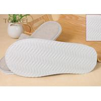 Wholesale Grey Closed Toe Disposable Hotel Slippers Terry Towel Extra Size from china suppliers