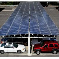 Wholesale 60kw Carport Solar Systems Ground Mounting For Car Port Parking Frameless Panel from china suppliers