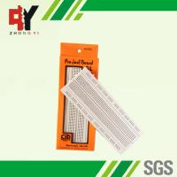 Wholesale Socket White Electronics Breadboard Power Line Spring Clip Finishing from china suppliers