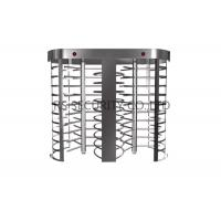 Wholesale Fingerprint Reader Double Entrance Automatic Systems Turnstiles , Electronic Revolving Turnstile from china suppliers