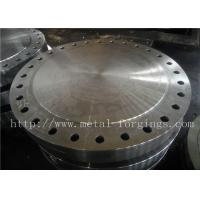 Wholesale P355QH EN10273 Carbon Steel Forged Disc  Pressure Vessel Blank Flange from china suppliers