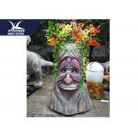 China High Simulation Decorative Statue Speech Tree With Colorful Branches for sale