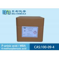 Wholesale 100-09-4 White Crystalline Powder P-Anisic Acid In Preservatives from china suppliers