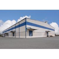 China Pre Engineered Design Modern Steel Structure Building Workshop Construction for sale