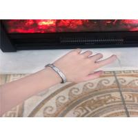 Wholesale Luxury 18K Gold Diamond Jewelry , Cartier Diamond Paved Love Bracelet from china suppliers