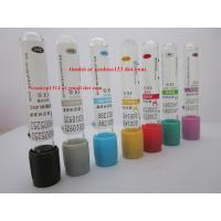 Wholesale CE ISO FSC VACUUM blood collection tube manufacturer vacutainer tube red top green top purple top sodium citrate tube from china suppliers