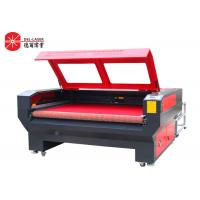 Wholesale Fabric Leather CO2 Laser Cutting Machine With Auto Feeding System 2 Heads from china suppliers