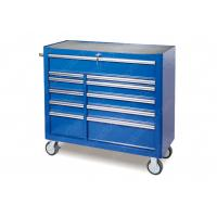 China Heavy Wheels Industrial Roller Cabinet 11 Drawer Stainless Steel SPCC Material for sale
