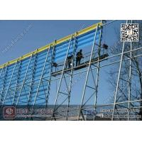 Wholesale Wind & Dust Suppressing  Fence System for Coal Storage/Powder Plant from china suppliers