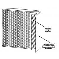 Wholesale ZS-GW H14 Aluminum frame Hepa filter for HVAC system from china suppliers