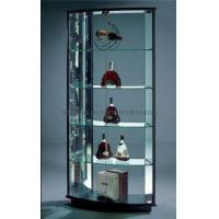 Wholesale Bent Glass Cabinet from china suppliers
