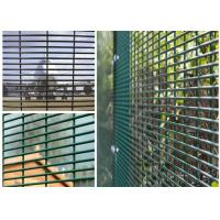 """Wholesale PVC Coated High Security Steel Wire Fencing Wire Fence Panel  4mm wire 3""""*1/2"""" Hole For Prison from china suppliers"""
