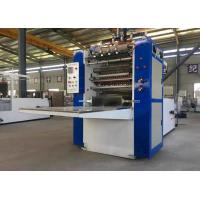 China Automatic Box Drawing Facial Tissue Paper making Machine Paper Embossing Folding Machine on sale