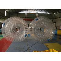 Wholesale Waterproof Plato PVC Inflatable Water Toys , Inflatable Water Roller from china suppliers