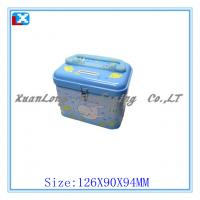 Wholesale Square saving money coin tin box from china suppliers