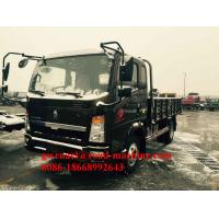 Wholesale 95 HP Light Duty Commercial Trucks Engine Power HOWO Light Cargo Trucks from china suppliers