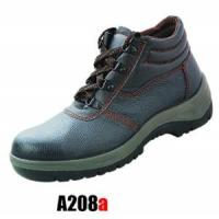 Wholesale CE Genuine Leather Safety Boots and Work Shoes A208A from china suppliers