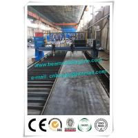Wholesale Light H Beam Production Line , Steel Conatruction H Beam Welding Line from china suppliers