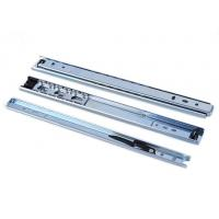 China 27mm width two fold drawer slide with ball bearing slide 18 inch (45mm length) for sale