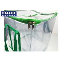 Quality Collapsible Soft Voting Ballot Box With Zipper , Ballot Box Voting for sale