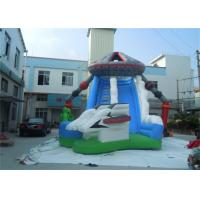 Wholesale Commercial Outside Inflatable Water Slides , Bouncy Water Slides For Kids from china suppliers
