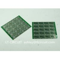 Buy cheap Four Layer Multilayer Printed Circuit  Custom Pcb Board 0.8MM Green Solder Mask from Wholesalers