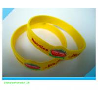 custom  silicone band for promotion gift for sale