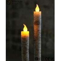 Wholesale Warm White Light Taper Led Candles With Moving Flame AA Battery Type from china suppliers