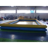Wholesale 2 Layers Height Inflatable Swimming Pool , Plastic Swimming Pools For Adults from china suppliers