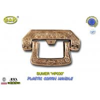 Wholesale HP030 European style gold Plastic Coffin Handles For Coffin Decoration from china suppliers