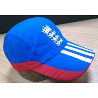 Wholesale 2019 New Style 100% Cotton Golf Cap , Navy And Red Fitted Golf Hats Waterproof from china suppliers