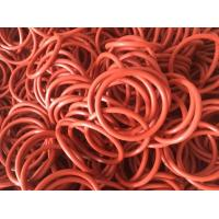 China 40 - 85 Shore Colored Silicone O Rings Ozone Resistance For Industrial Equipment on sale