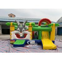 Wholesale Kids Party Jungle Rabbit  Inflatable Bouncy Castle for Indoor Inflatable Indoor Playground Fun from china suppliers