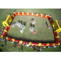 Quality 1.0mm TPU Human Hamster Bumper Ball , Outdoor Toys Inflatable Body Ball For Kids And Adult for sale