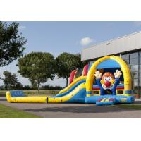 Wholesale Commercial Clown Lovely Inflatable Combo With Slide And Pool from china suppliers