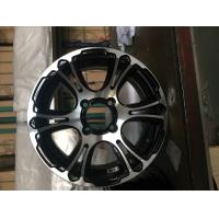Wholesale 14x6.0 ET -10 114.3-139.7 black alloy wheels KIN -6002 Super Concave Design from china suppliers