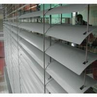 Quality External venetian blinds with 80mm width, made of aluminum for sale