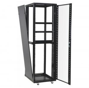 Wholesale 42u 37u Perforated Door Network Equipment Rack Floor Standing Data Center Cabinet from china suppliers