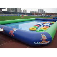 Quality Cute Logo Printing Air Sealed Swimming Pool For Kid / Kids Swim Pools For Fun for sale