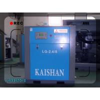 China High efficiency air - cooling power driven screw air compressor  2.4³  8 bar 15kw on sale