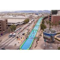 Wholesale Green Giant Inflatable Slide , Crazy Fun 1000 Ft Inflatable Giant Slide from china suppliers