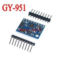 Wholesale GY-951 AHRS. 9DOF ATMEGA328 ITG3205 ADXL345 HMC5883L Module 9-axis Inertial Navigation from china suppliers