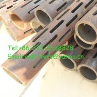 Wholesale carbon steel Slotted Pipes(high quality) from china suppliers