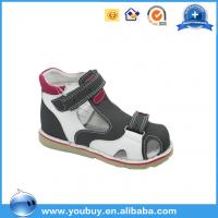 China Beautiful Buckle Strap Easy Wear Orthopedic Sandals Shoes For Boys,Professional Hard Sole Shoes on sale