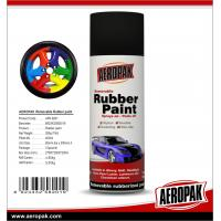 China High quality 400ml Matt/High gloss Multi-Purpose removable Rubber Coating Spray Paint for sale